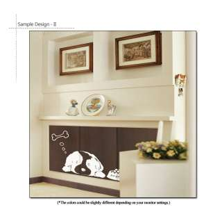 PUPPY ★ Vinyl Art Decor Sticker Removable Wall Decal