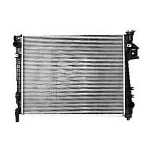 TYC 2813 Dodge Ram Pickup 1 Row Plastic Aluminum Replacement Radiator