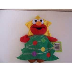 Sesame Street Christmas Tree Elmo Plush (8) Toys & Games