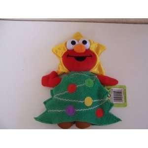 Sesame Street Christmas Tree Elmo Plush (8) Toys & Games