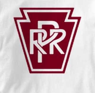Pennsylvania Railroad Railway Logo T Shirt XL