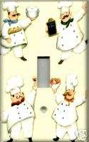 FAT CHEFS SINGLE LIGHT SWITCH PLATE COVER