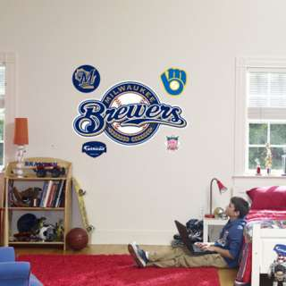 Milwaukee Brewers Logo Wall Decal at AllPosters