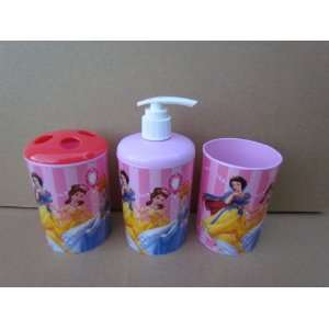 Disney Princess 3 Piece Bathroom Accessories Set