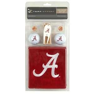 Alabama Crimson Tide College NCAA Golf Logo Gift Set