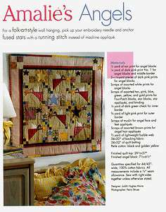 Star Quilts Primative Country Designs Quilting Pattern Book NEW