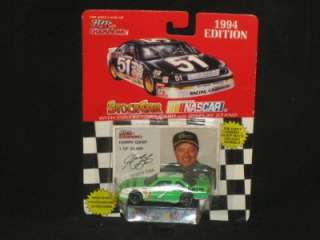 1994 HARRY GANT #7 MANHEIM FORD STOCK CAR W/STAND 164