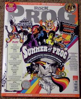 2011 issue of uk import classic rock presents prog magazine