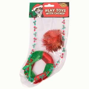 Holiday Cat Toy Stocking Pet Supplies