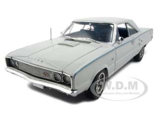 1967 DODGE CORONET R/T 426 HEMI WHITE 118 MODEL CAR