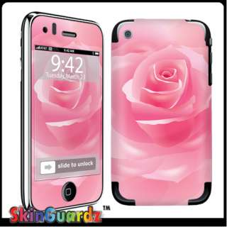 Rose Pink Vinyl Case Decal Skin To Cover Your Apple IPHONE 3G 3GS