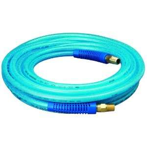 Amflo 12 25E Blue 300 PSI Polyurethane Air Hose 1/4 x 25 With 1/4