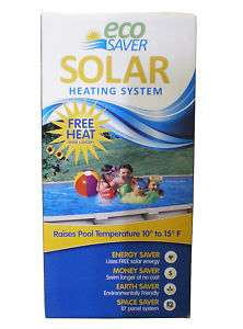 NEW ECOSAVER SOLAR SWIMMING POOL HEATING SYSTEM 10