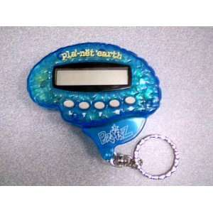 Blue Box Toys Blue Box Brainz Pla net*Earth Planet Earth Keychain LCD