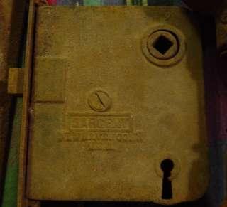 Vintage Sargent Door Knobs Lock and Door Plates