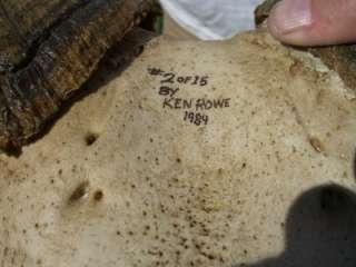 Desert Bighorn Sheep Ram Skull Full Curl Head Epoxy Full Size Copy