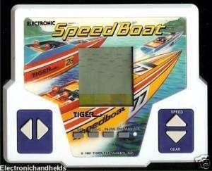 TIGER ELECTRONIC SPEED SPEED RACING HANDHELD TOY GAME