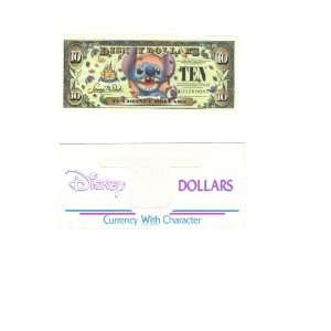 Mint $10 Stitch Disney Dollar 2005: Everything Else