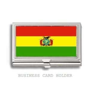Bolivia Bolivian Flag Business Card Holder Case
