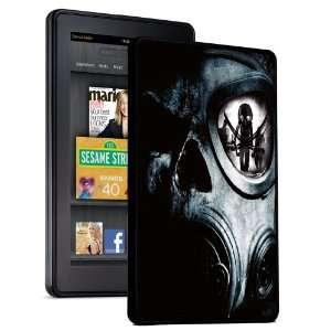 Zombie Skeleton Pirate Gasmask   Kindle Fire Hard Shell