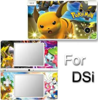 Pokemon SKIN DECAL VINYL COVER STICKER f NINTENDO DSi 1