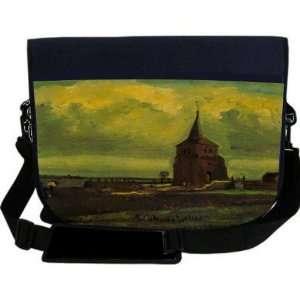 Van Gogh Art Old Tower NEOPRENE Laptop Sleeve Bag