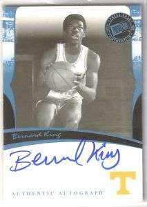 2007 Press Pass Bernard King AUTO Autograph
