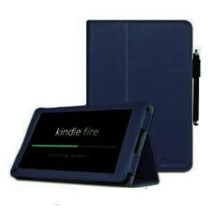 FINTIE ® (Navy Blue) PU Leather Folio Case Cover with