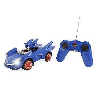 Full Function R/C Sonic Car With Light  Nkok Toys & Games Action