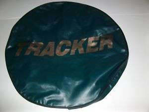 FLEETWOOD TRACKER SPARE TIRE COVER TRAVEL TRAILER POPUP