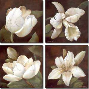 Rich Flowers Floral Decor Art Ceramic Accent Tiles