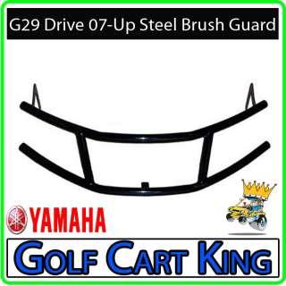 Yamaha G29 Drive Golf Cart Black Steel Brush Guard 07+