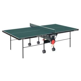Butterfly Green Personal Rollaway Table Tennis Table Game Room