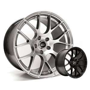 5x114.3 Bolt Pattern 72.6 Bore Diameter Hyper Silver Wheel Automotive