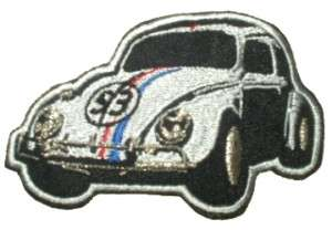 HERBIE Embroidered Patch The Love Bug Volkswagen Beetle