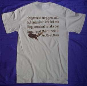 Trust the Government Red Cloud Native American T Shirt