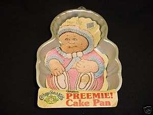 Wilton CP PREEMIE cake pan INFANT BABY mold tin INSTRUC |