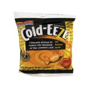 Cold Eeze Sugar Free All Natural Honey Lemon Flavor Cold Drop Lozenges