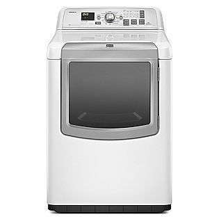 Dryer w/ Steam Cycles   White  Maytag Appliances Dryers Electric