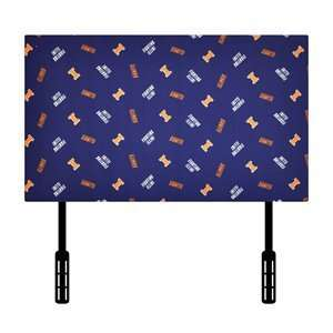 Kidz World 1100 1 ILL Univ Illinois Twin Kids Headboard