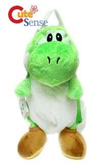 Nintendo Super Mario Brothers Green Yoshi Plush BagRe instock