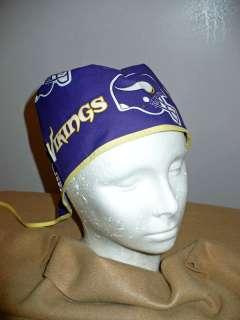 Minnesota Vikings NFL Mens Surgical Scrub Hat