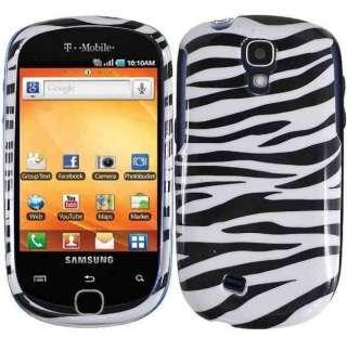 ZEBRA PHONE COVER SKIN CASE FOR T MOBILE SAMSUNG GRAVITY SMART T589