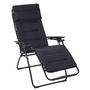Steel (Charcoal Gray) Padded Zero Gravity Chair Patio, Lawn & Garden