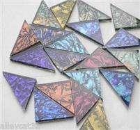 Mirror Mosaic Tile MIXED VAN GOGH 1 TRIANGLES