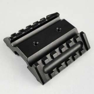 High Quality Aluminum Tactical 45 Degree Dual Side Rail Mount