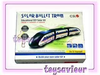 Educational Solar Powered Bullet Train Model Kit