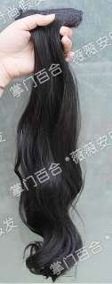 High quality Hair Extension Womens Wavy Curly Synthetic Hair