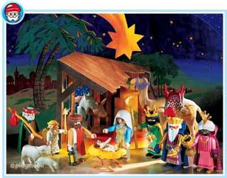 playmobil christmas nativity set with 3 wise men jesus