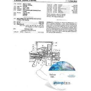 NEW Patent CD for BREATHING AID ADMINISTRATION DEVICE